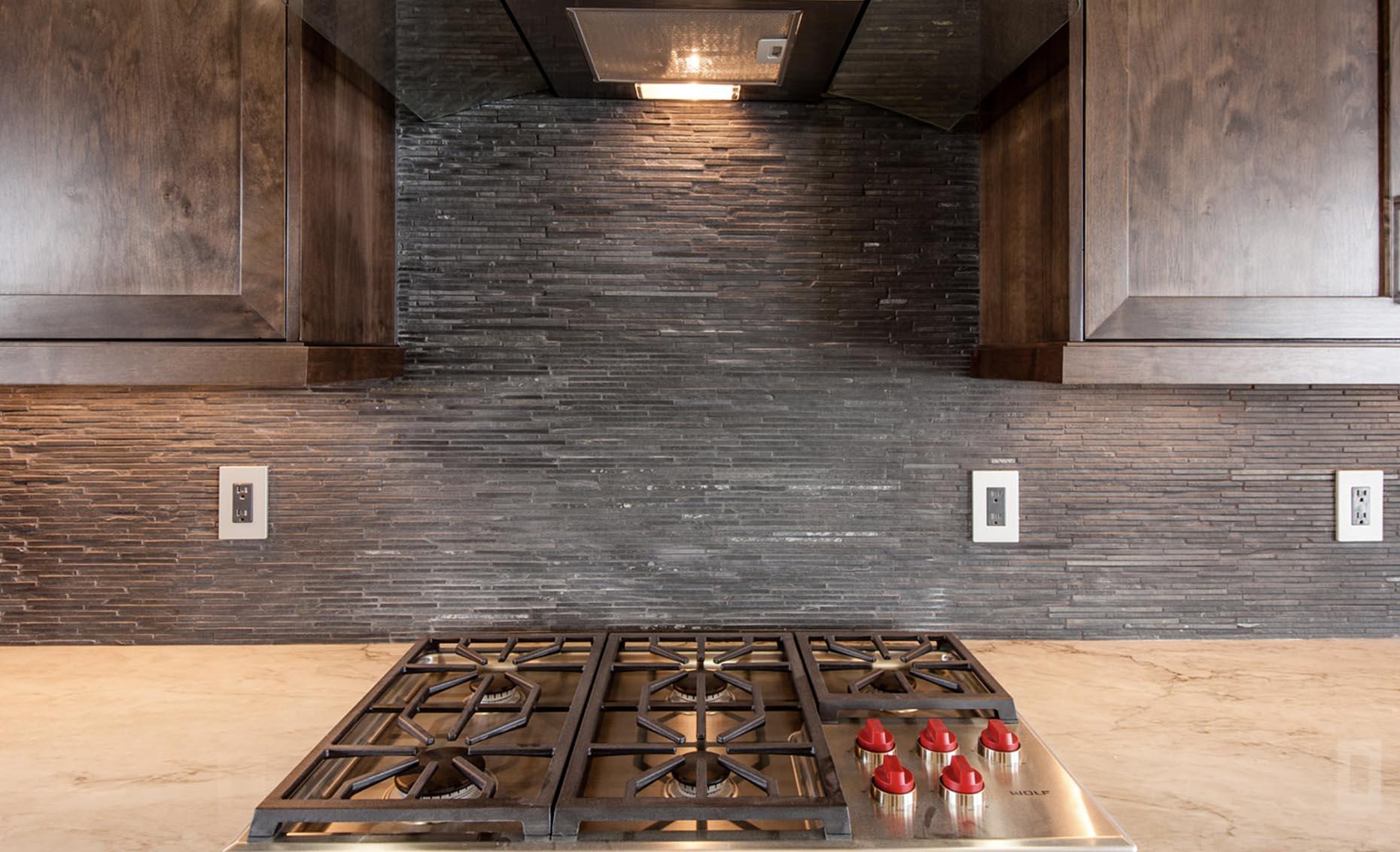 The Corrente Bello House Kitchen Stovetop