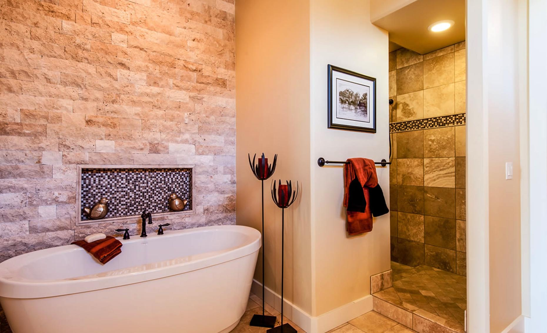 The Villa House Master Bathroom