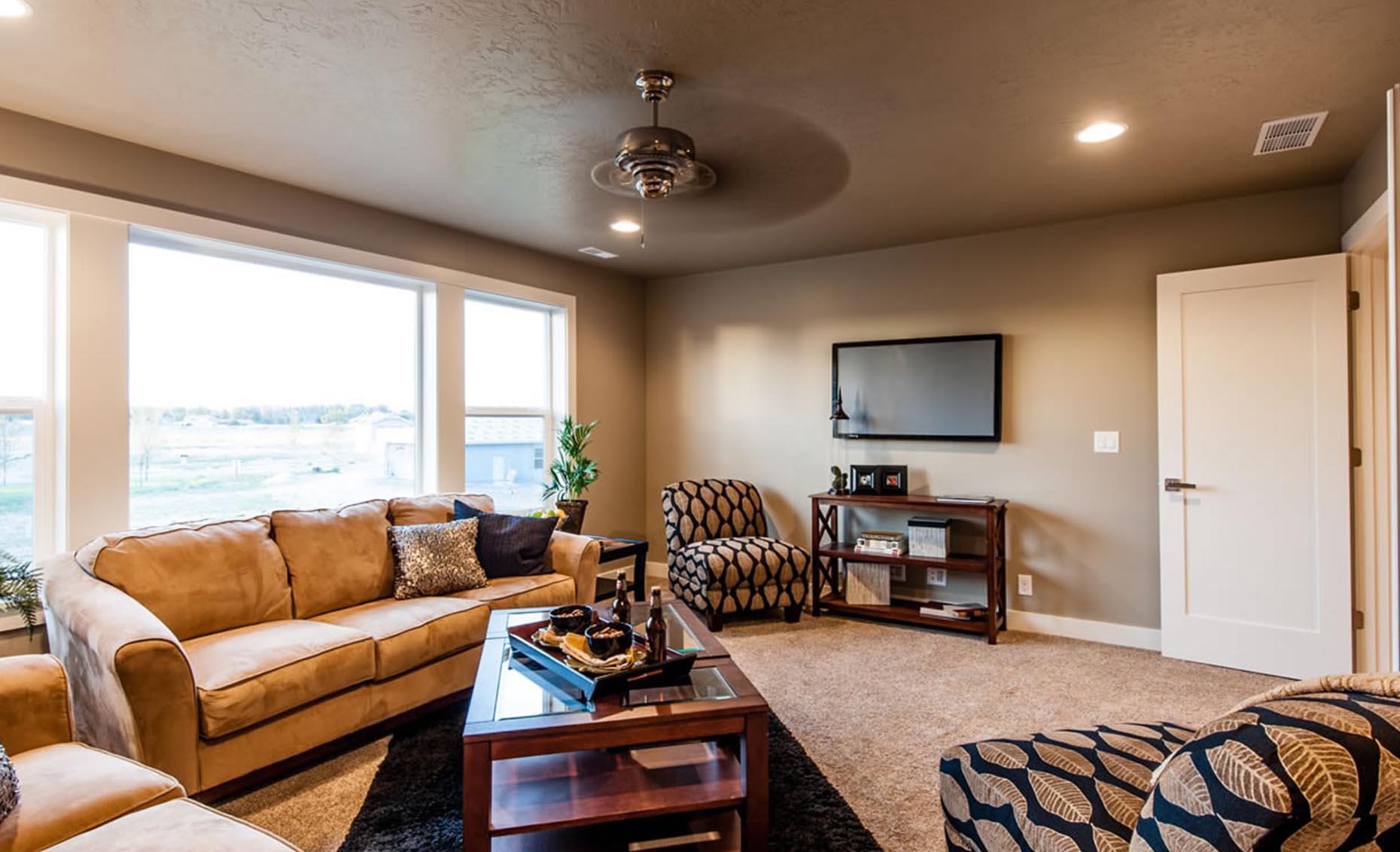 The Braveland House Living Room Area