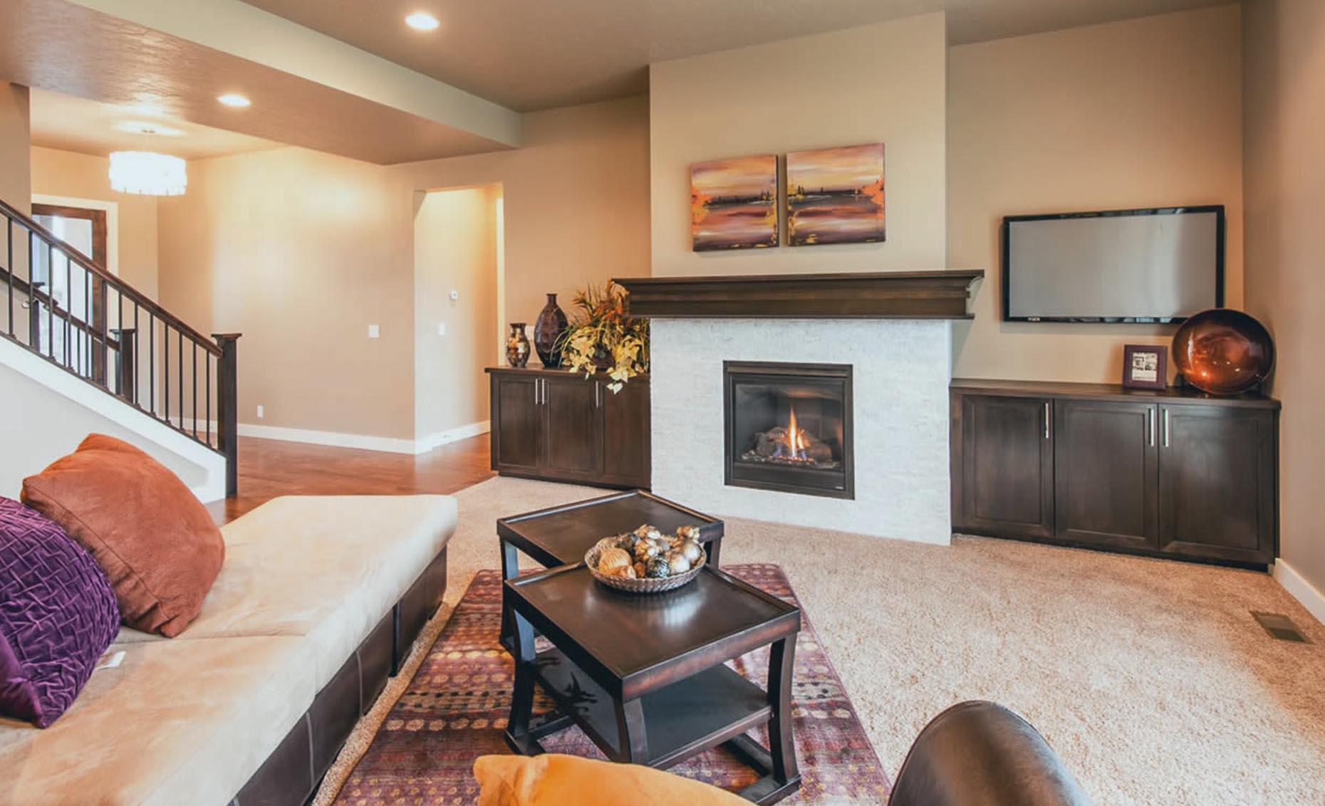The Braveland House Living Room