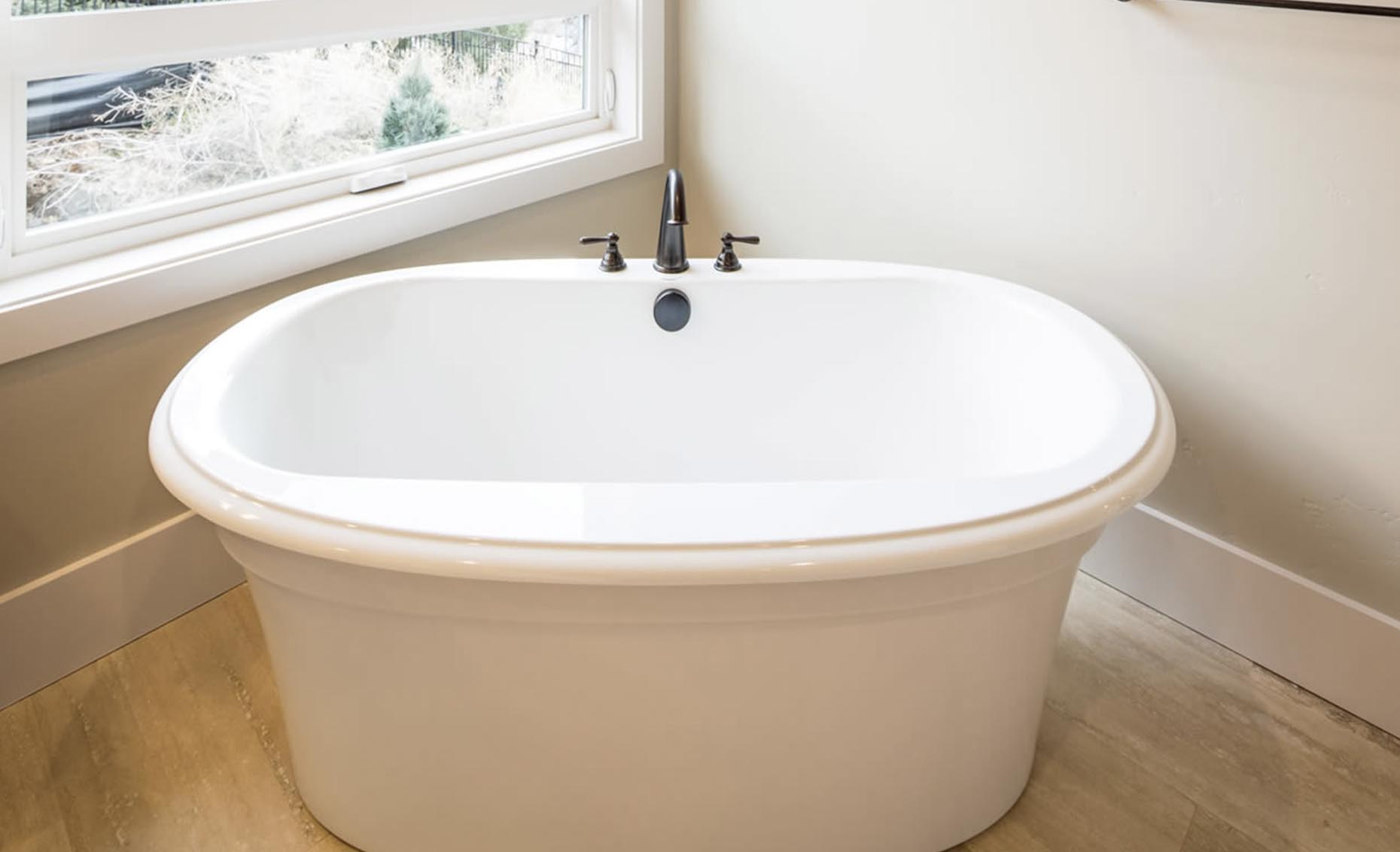 The Strata Via House Master Bathroom Bath Tub