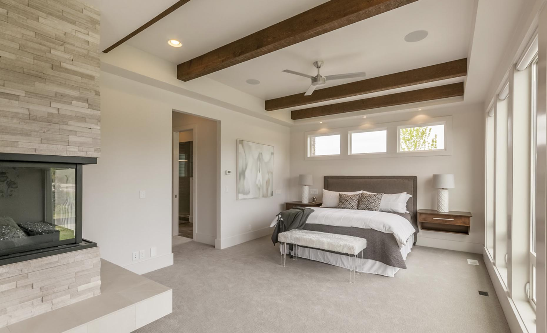 The Salmon Falls House Master Bedroom