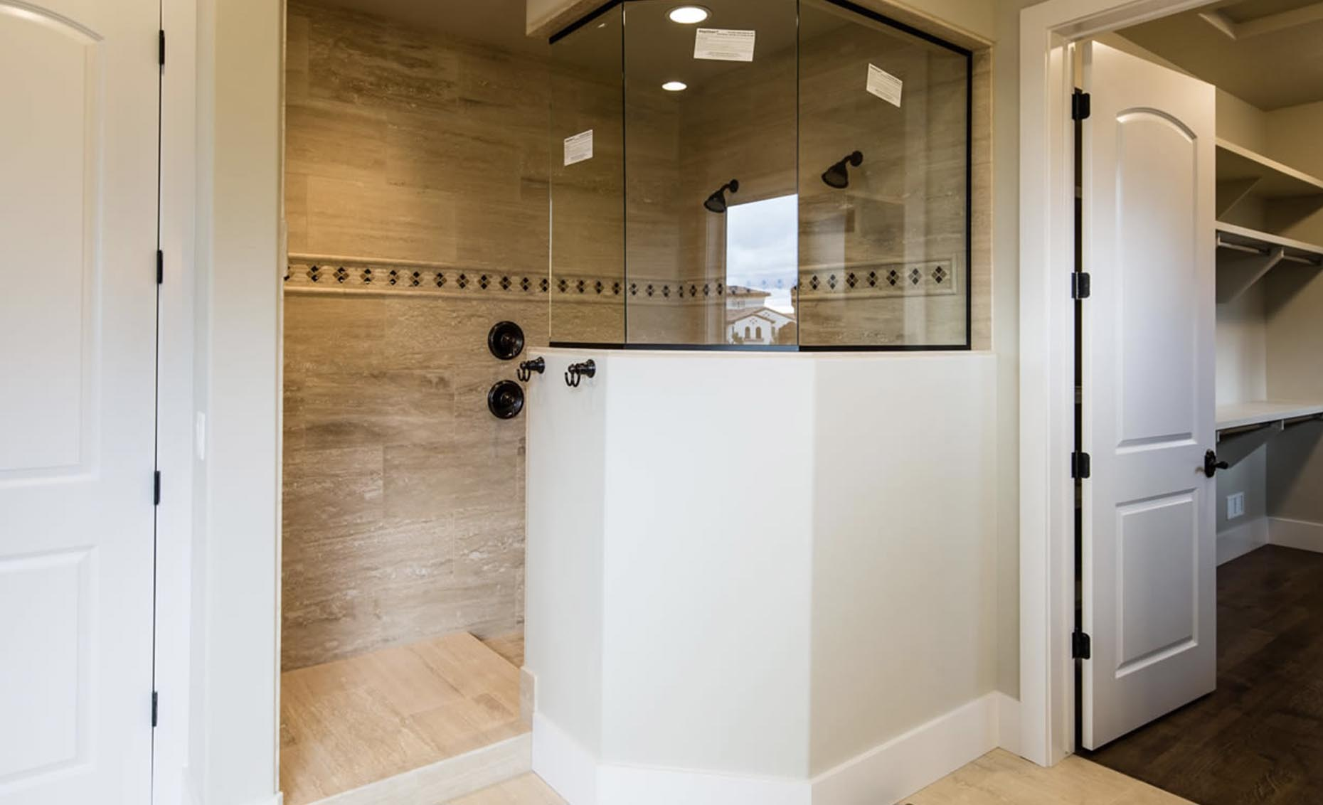 The Strata Via House Master Bathroom Shower