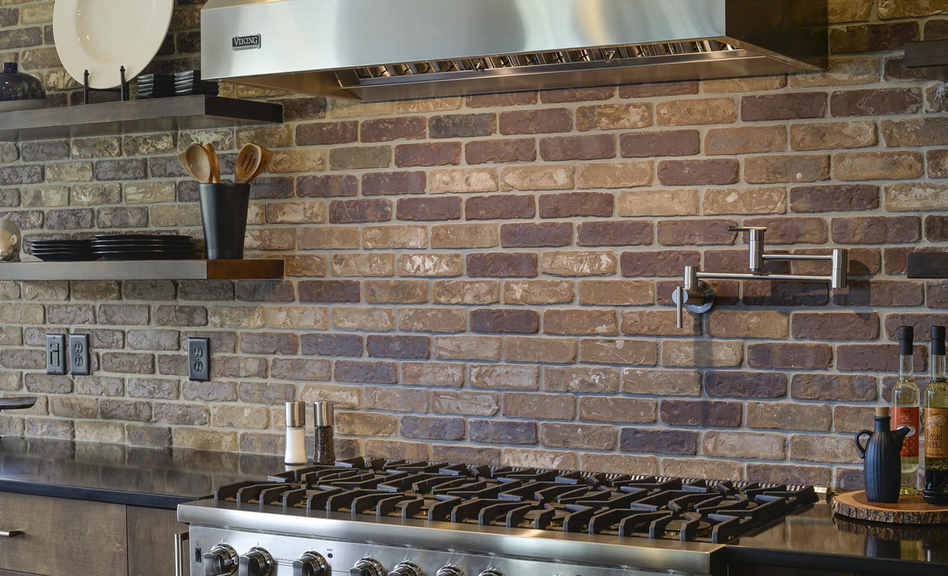 The Salmon Falls House Kitchen Backsplash