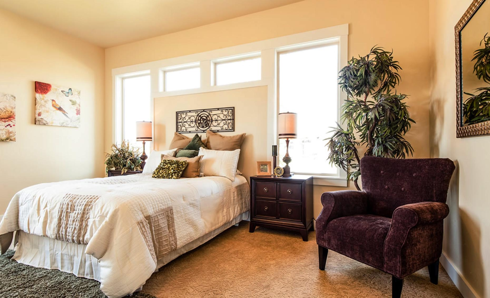 The Villa House Guest Bedroom