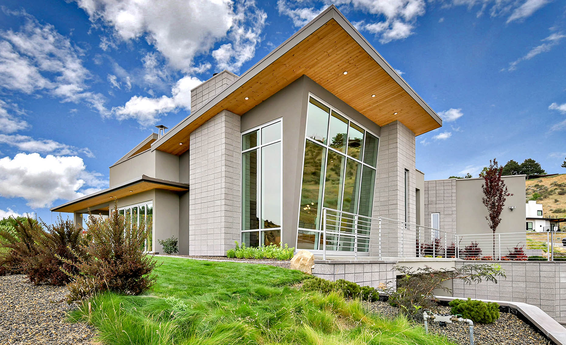 The Nature View Custom Home Exterior