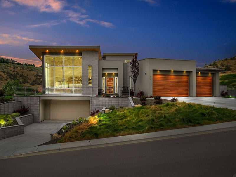 The Nature View Custom Home built by Syringa Construction of Idaho